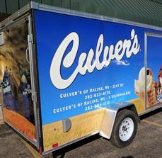 Culver's Trailer Wrap