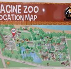 Racine Zoo Directional Signage