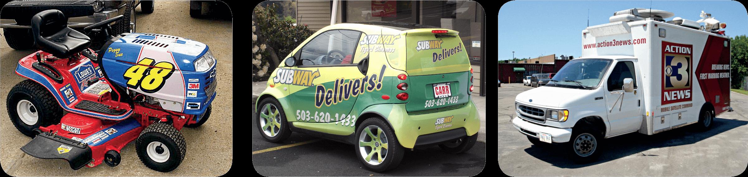 Vehicle Wraps & Truck Lettering