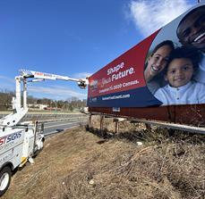 Census billboard