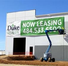 Duke Realty Leasing Banner
