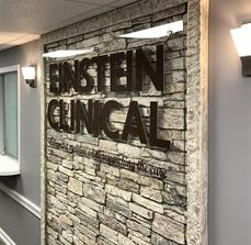 Einstein Clinical Interior Branding Sign