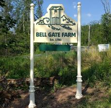 Monument Sign for Bell Gate Farm