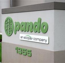 Pando Monument Sign