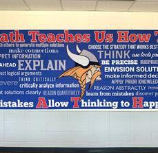 High School Wall Graphic