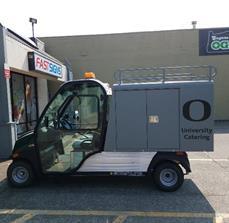 University of Oregon Vehicle Graphics