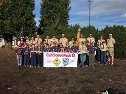 Cub Scout Pack 12 - Banner - Pipe