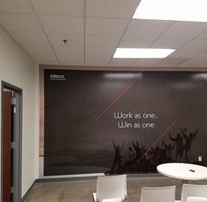 Adecco Medical Wall Wrap