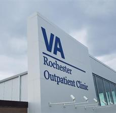 VA Rochester Outpatient Clinic Dimensional Lettering