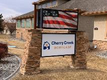 Cherry Creek Mortgage Monument and Digital Sign