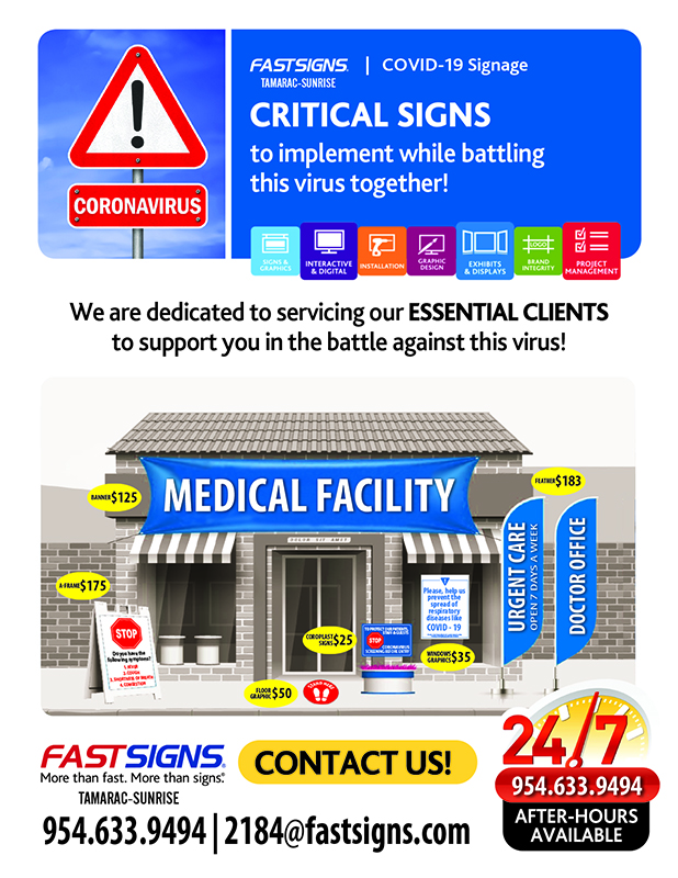 Critical Medical Signs-FastSigns Tamarac.Sunrise