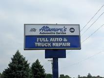 Altamores Pylon Sign
