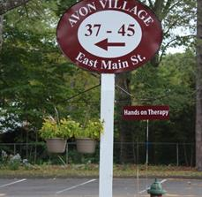 Large Avon Village Oval