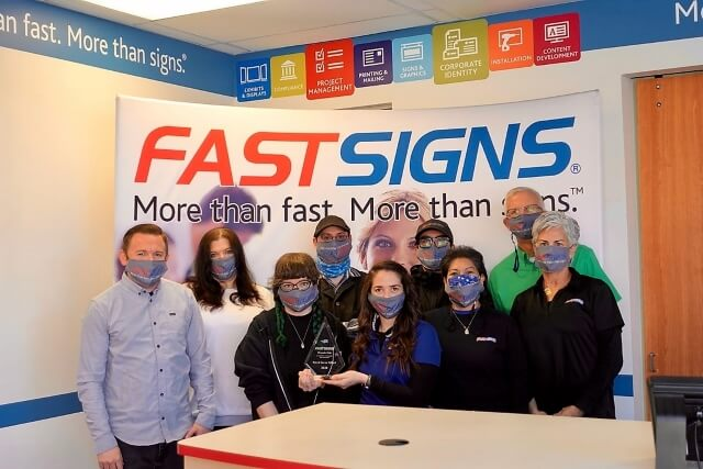 Local FASTSIGNS® Recognized Among Top-Performing Centers