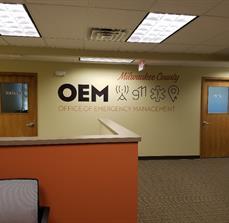 OEM - Milwaukee County Wall Logo