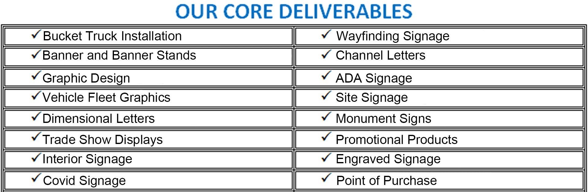 248 - Deliverables