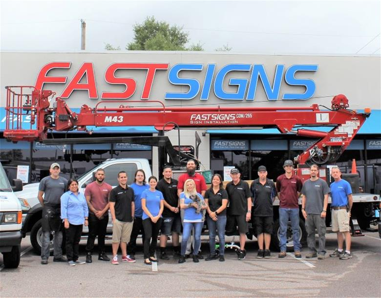 FASTSIGNS of Tampa, FL - South team photo