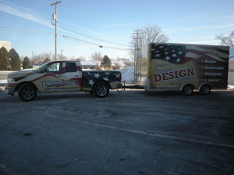 Tundra Land Mobile Design Center Wrap