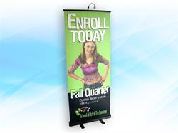 Banner Stand Retractable 2