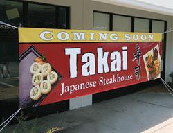 Exterior Restaurant Banner