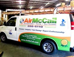 Van Graphics Created, Printed and Installed by FASTSIGNS Baymeadows.