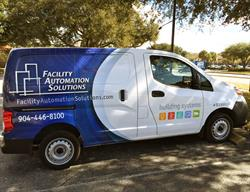 Van Wrap Created, Printed and Installed by FASTSIGNS Baymeadows.
