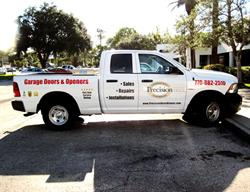 Partial Truck Wrap created, produced and installed by FASTSIGNS Baymeadows.