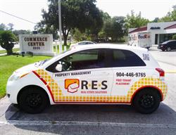 Car Wrap for a Real Estate Related Company.