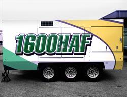 Trailer Decal Wrap Printed and Installed by FASTSIGNS Baymeadows.