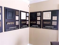 Custom Material Sample Boards