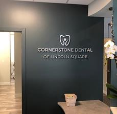 Cornerstone Dental Wall Letters