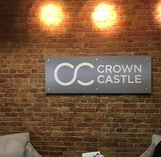 Crown Castle Building Sign
