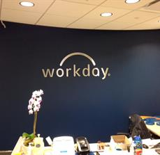 Workday Channel Letters