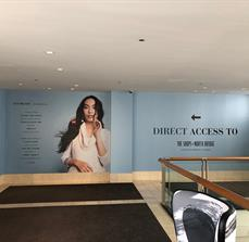 North Bridge Mall Wall Graphics