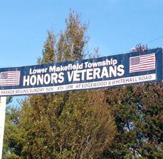 LMT Veterans Parade Banner