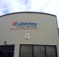 Lakeview Child Center Building Sign