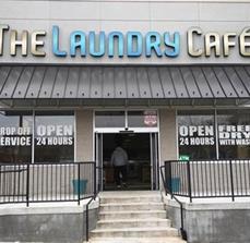 Laundry Café Channel Lettering