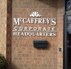McCaffrey's Food Market Dimensional Outdoor Lettering