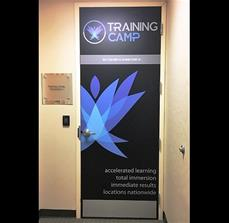 Training Camp Door Graphics