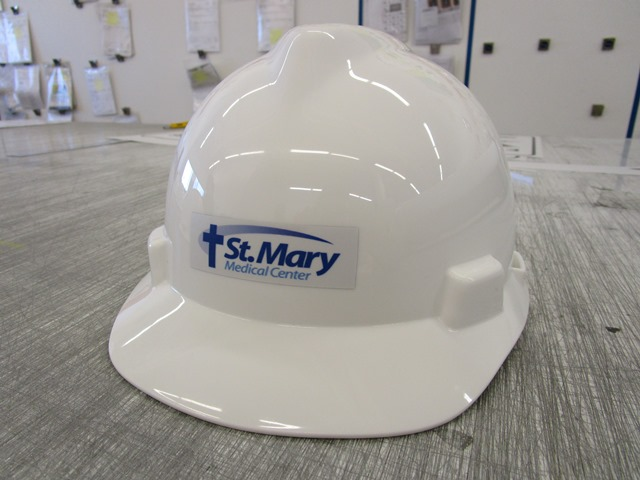St. Mary Medical Center Helmet Decal