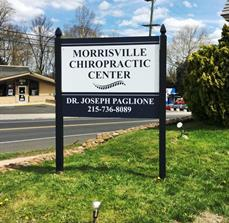 Morrisville Chiropractic Post and Panel