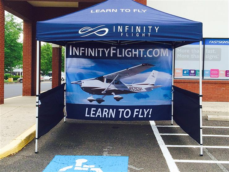 Infinity Flight Custom Outdoor Tent