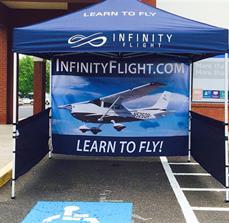 Infinity Flight Custom Outdoor Tent