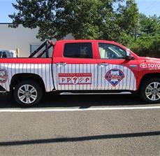 2015 Phillies Toyota Tundra vehicle wrap