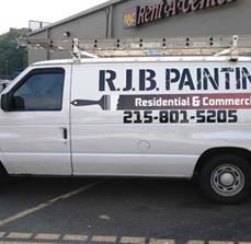 RJB Painting vehicle graphics