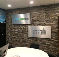FASTCAPITAL Stand-Off Sign With Dimensional Letters