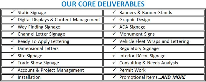 Core_Deliverables