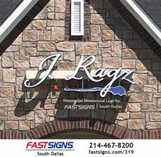 Real Estate Illuminated Channel Letters by FASTSIGNS South Dallas