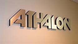 Sport Company Wall Lettering