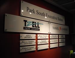 Office Building Acrylic Wall Signs